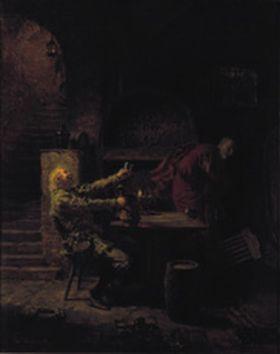 Der schlesische Zecher und der Teufel