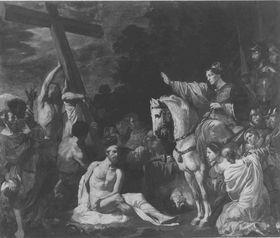Auffindung und Prüfung des Wahren Kreuzes Christi