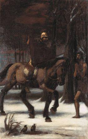 Die drei Reiter II: Hl. Martin