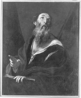Ein alter Gelehrter (hl. Andreas)