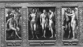 Das Urteil des Paris (Triptychon)