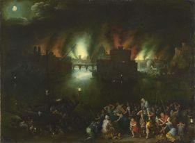 Das brennende Troja