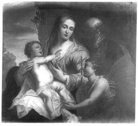 Die Heilige Familie mit Johannesknaben