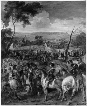 Heinrich IV. in der Schlacht bei Arques (mit Pieter Snayers)