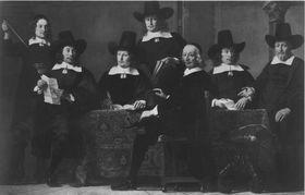 Die Vorsteher der Amsterdamer Weinhändlergilde