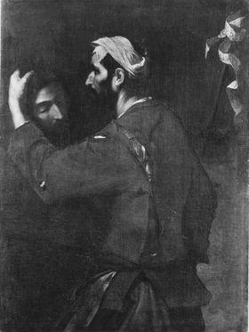 Der Henker mit dem Haupte Johannes des Täufers