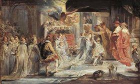 Die Krönung der Königin (Skizze zum Medici-Zyklus)
