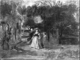 Rubens und seine zweite Frau im Garten (nach Rubens)