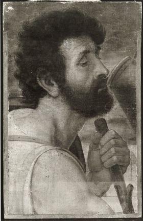 Bildnis eines bärtigen Mannes
