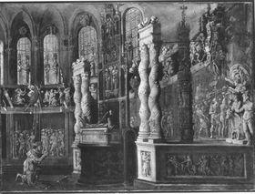 Salomo im Tempel