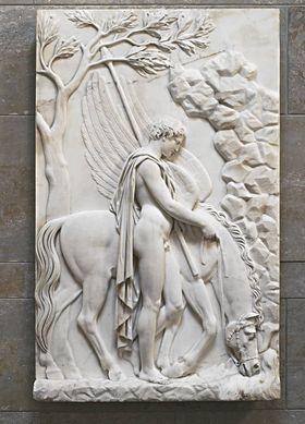 Bellerophon und Pegasus