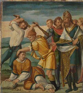 Cyriakus-Folge: Martyrium des hl. Cyriakus