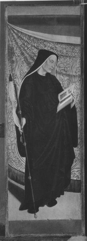 Rinck-Altar II: Hl. Benedikt