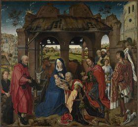 Columba-Altar: Anbetung der Könige