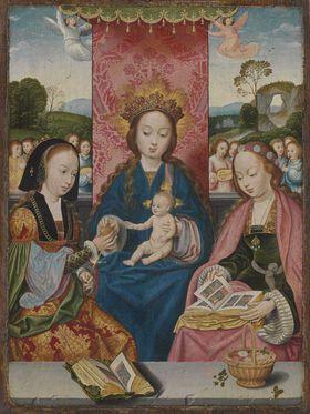 Maria mit Kind und den hll. Margaretha und Dorothea