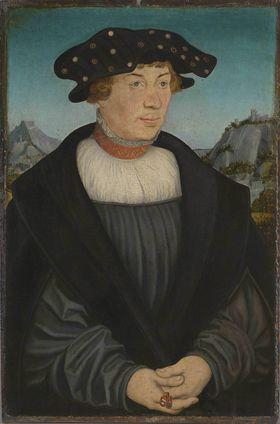 Bildnis des Hans (?) Melber