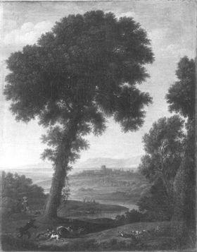 Landschaft italienischen Charakters
