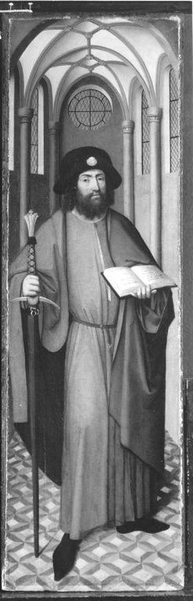 Rinck-Epitaph(?): Hl. Jakobus d. Ä.