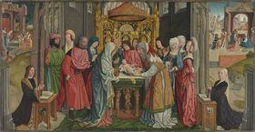 Beschneidungsaltar: Beschneidung Christi