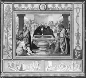 Das Sakrament der Taufe (aus dem Zyklus der Sieben Sakramente)