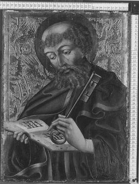 Hl. Petrus Abgetrennte Rückseite: Schmerzensmann (WAF 991)