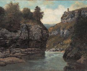 Felsen nahe der Grotte der Loue