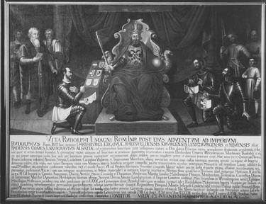 Fürstenbelehnung durch Kaiser Rudolf I.