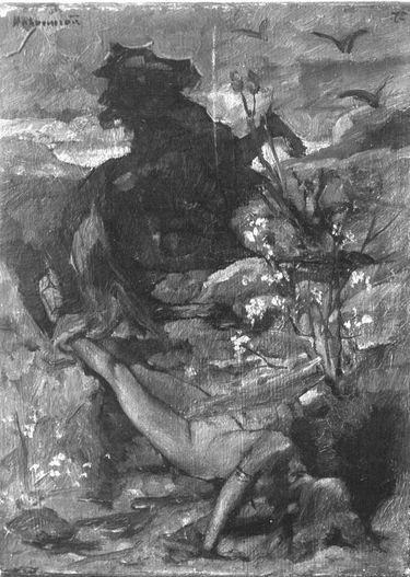 Königin Brünhilde zu Tode geschleift