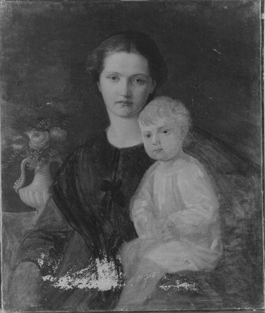 Bildnis einer Mutter mit ihrem Kind