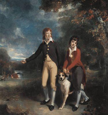 Die beiden Söhne des 1st Earl Talbot