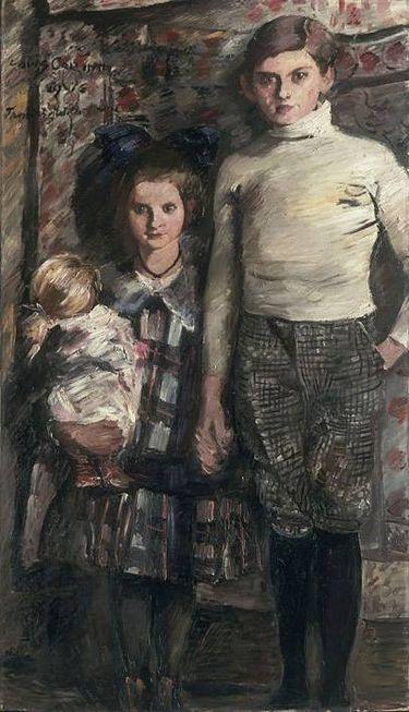Thomas und Wilhelmine - Die Kinder des Künstlers