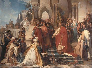 Der Hof Kaiser Friedrichs II. zu Palermo