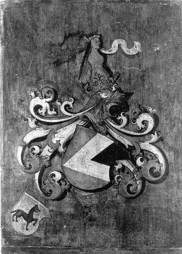 Schiebedeckel zum Bildnis des Hieronymus II. Haller zu Kalchreuth