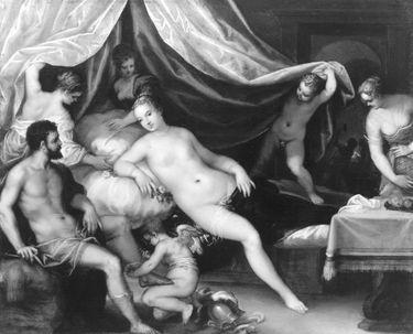 Venus, Mars und Vulkan