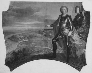Karl Albrecht und Ferdinand Maria Innocenz bei der Eroberung von Belgrad (2. Eroberung)