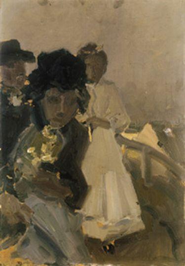 Dachauer Familie mit Kind