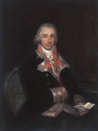 Don José Queraltó als spanischer Armee-Arzt