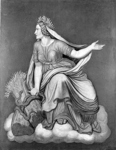 Das Märchen von Amor und Psyche: Demeter