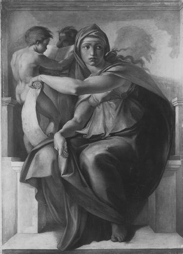 Die lybische Sibylle (nach Michelangelo)