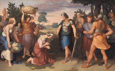 Abigail vor David