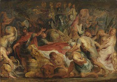 Die Leichenfeier des Decius Mus