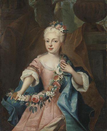 Bildnis der Erzherzogin Maria Theresia von Österreich, spätere Kaiserin (1717-1780)
