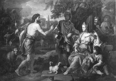 Johannes der Täufer vor Herodes