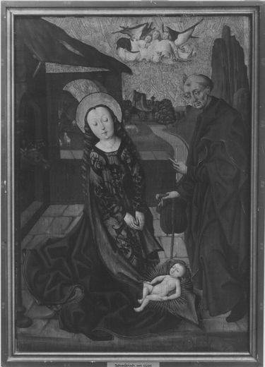 Marienaltar: Geburt Christi