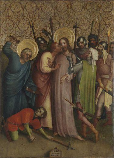 Heisterbacher Altar: Gefangennahme Christi