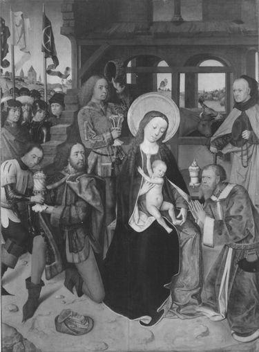 Lyversberg-Passionsaltar: Anbetung der Könige