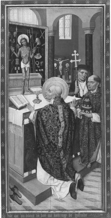 Flügelaltar: Messe des hl. Gregor