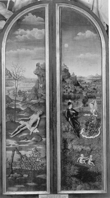 Allegorie auf Leben und Tod