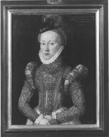 Bildnis der Anna Maria Kain, Vermählte von Annaberg