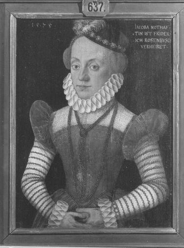 Bildnis der Jacoba Nothafft, vermählte Rosenbusch